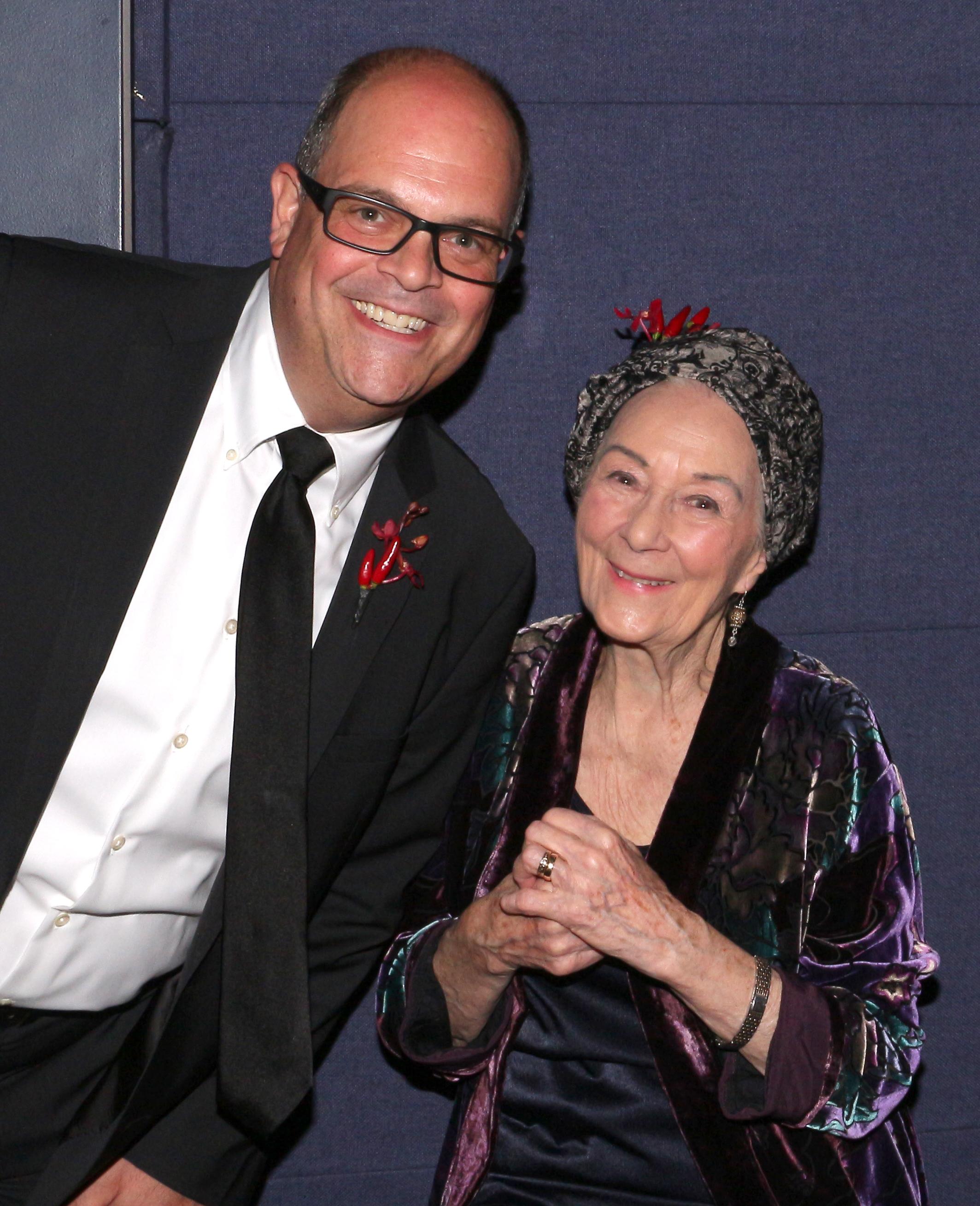Brad Oscar and Rosemary Harris (2).JPG