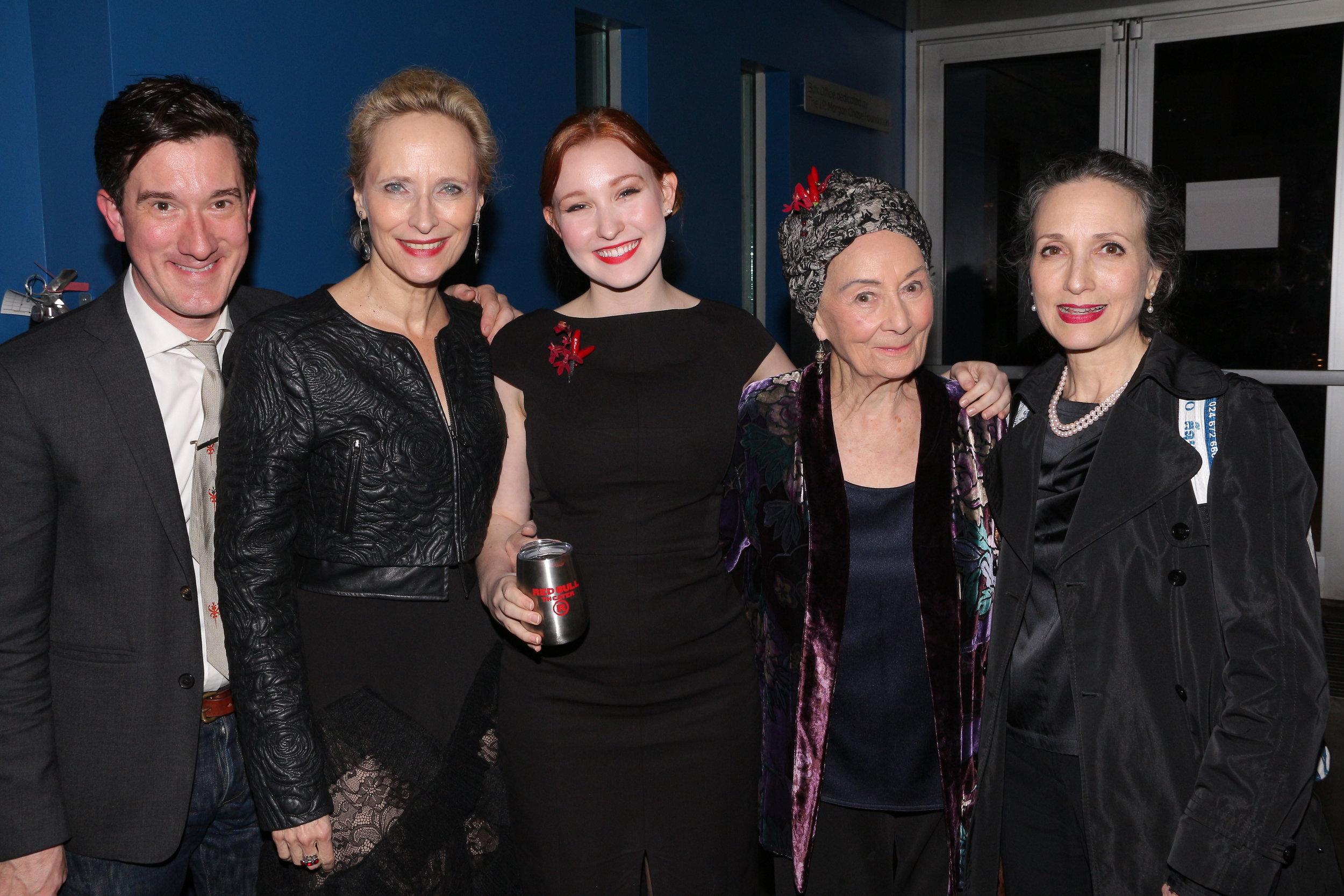 Carson Elrod, Laila Robins, Chessa Metz, Rosemary Harris, Bebe Neuwrith (2).JPG