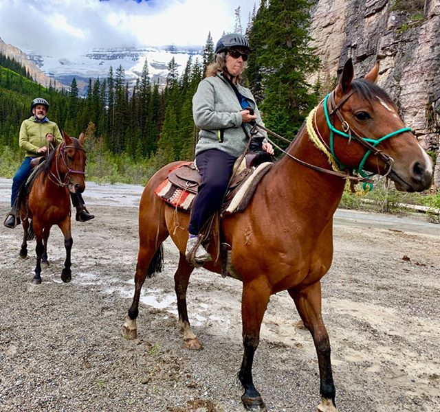 Conquering the Canadian Rockies on horseback..
