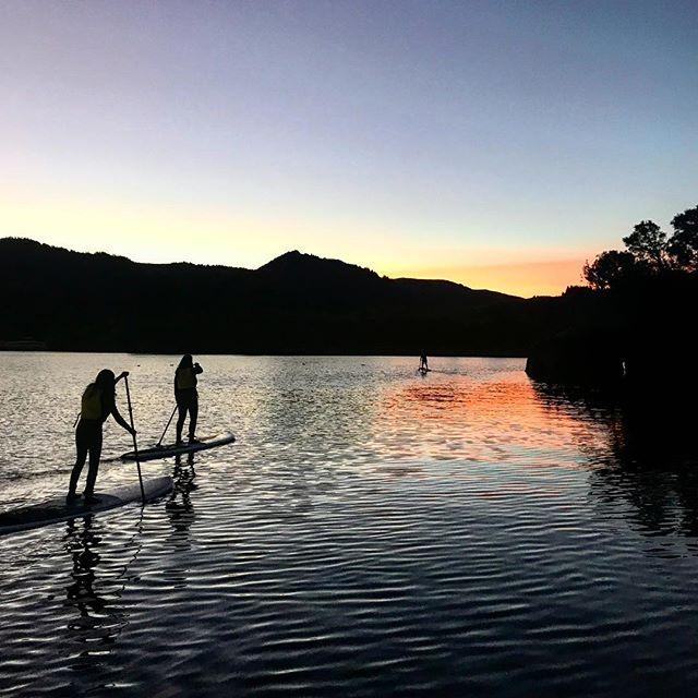 The lake is on 🔥 bye bye sun!