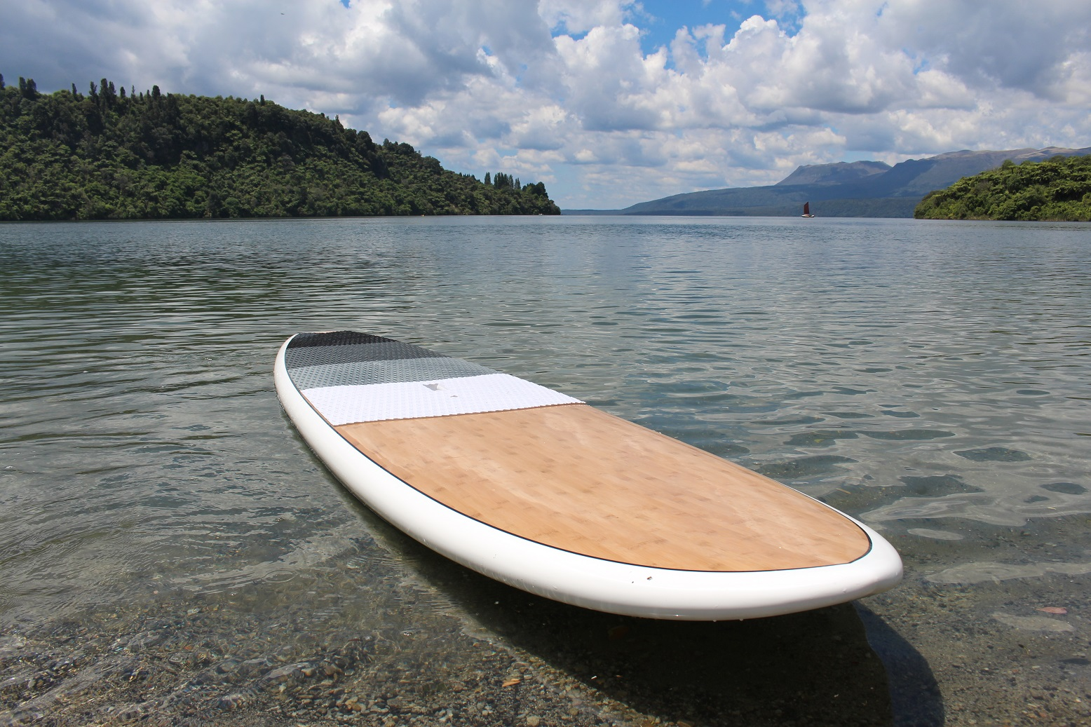 For a more satisfying paddle - we use high quality hard epoxy paddle boards