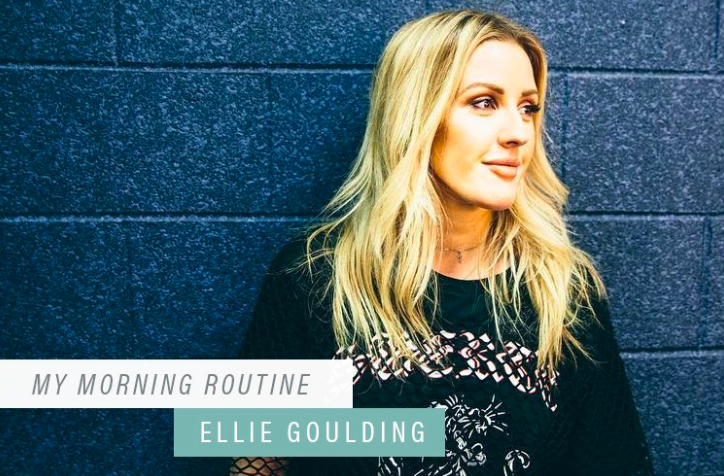 This Is the One Thing Ellie Goulding Does Every A.M. to Keep Her Mind and Body Healthy - Well+Good