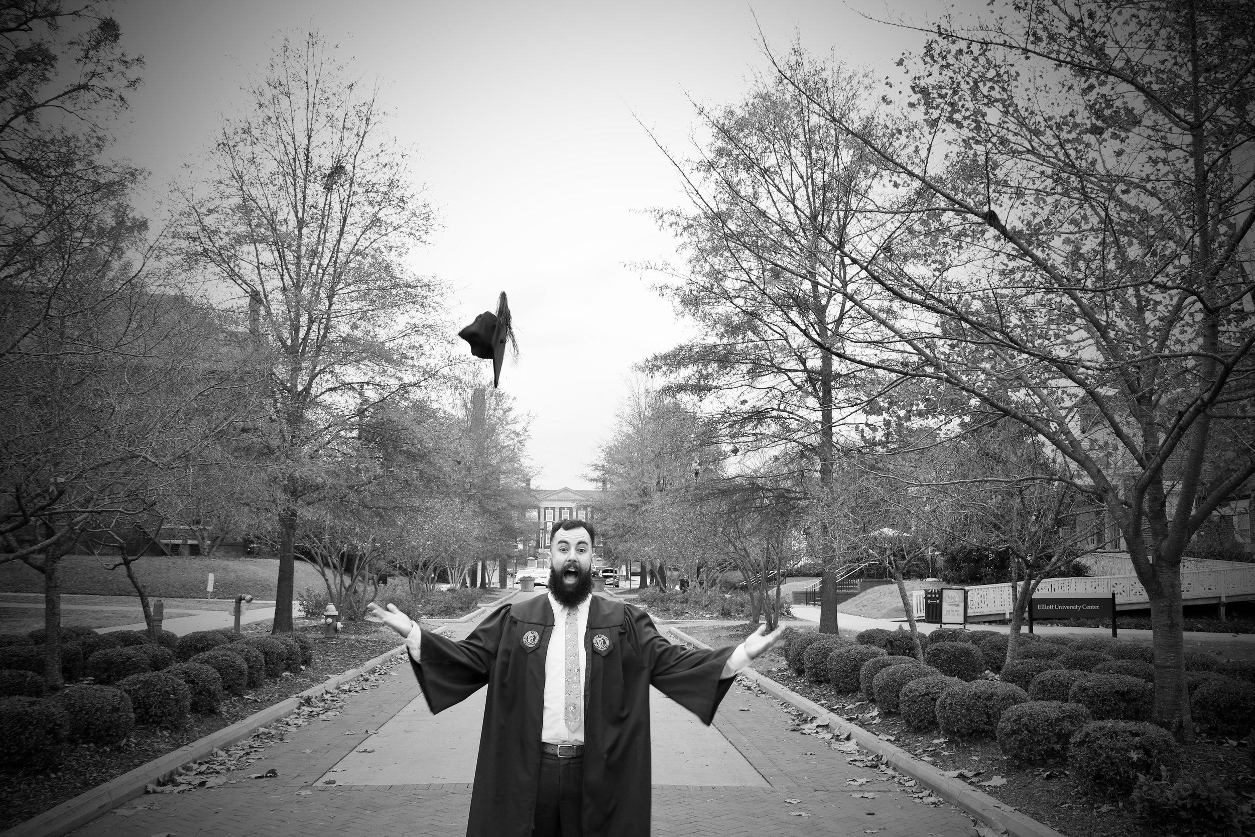 David White - Graduation December 2018