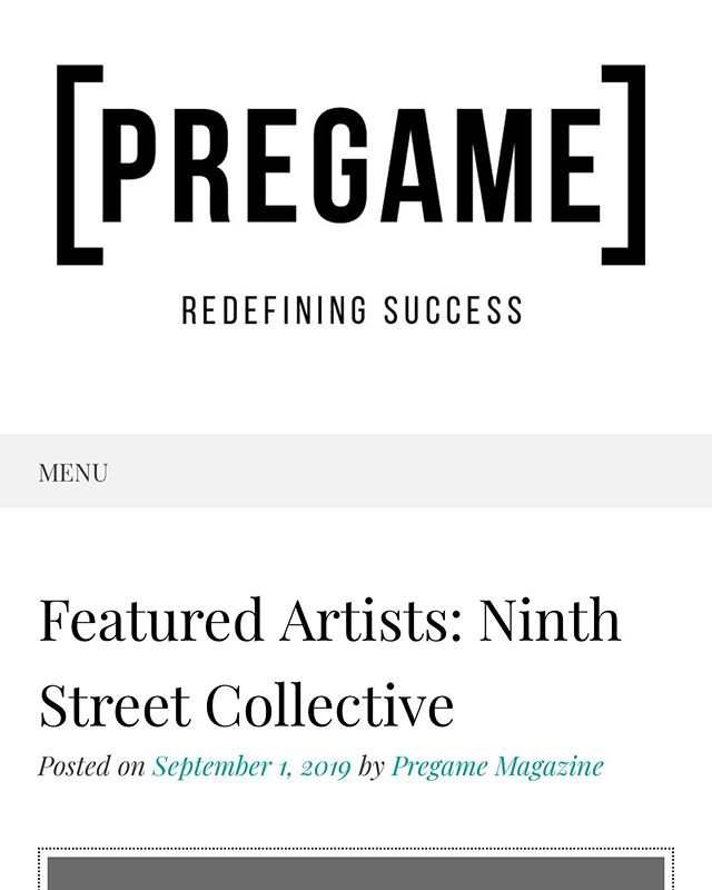 Thank you @pregamemag for the generous feature on @ninthstreet__collective in the September issue and the shout out to our 50 CWA book!! 🤓📕 🤓📕 🤓📕 #pregamemagazine #ninthstreetcollective #50cwa #schifferpublishing #heatherzises #johngosslee #artists #womenartists #curators #writers #artbook #businessofart @heatherzises @johngosslee @schifferpublishing