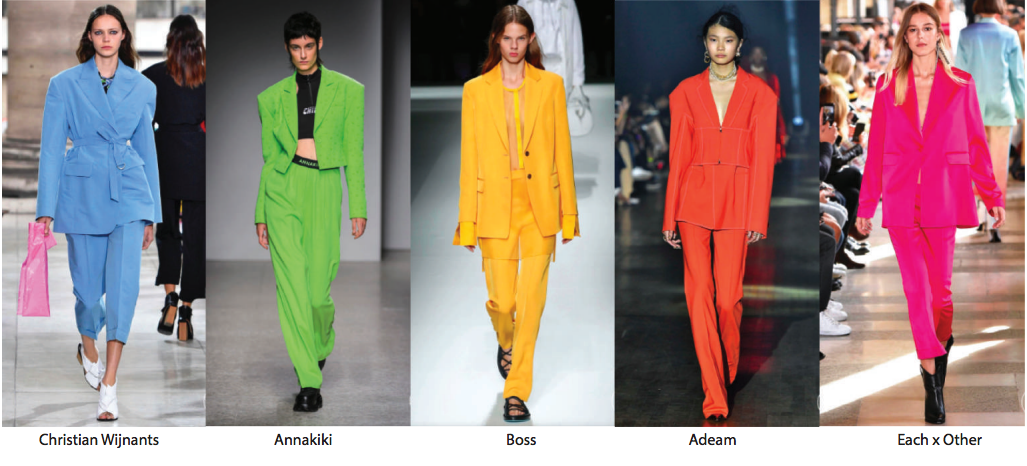 Colored Suits