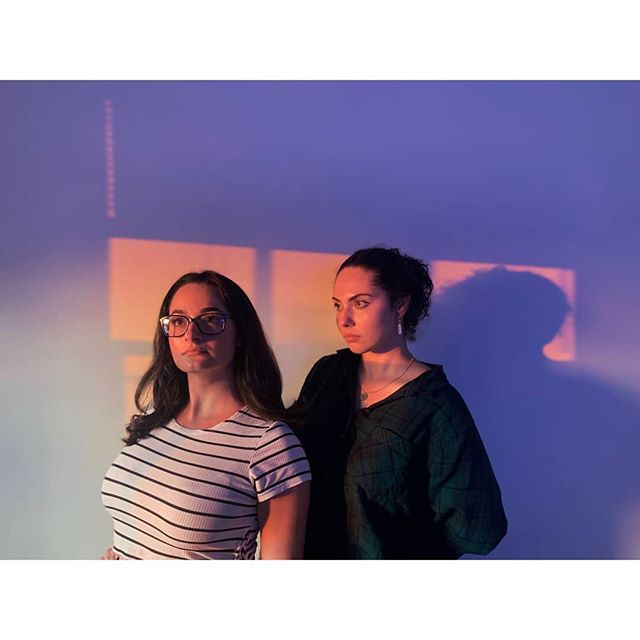 When you spend hours looking for a particular mood for a lookbook and you notice it just showed up in the office. Thanks world, you're the best.SXS producer @deanneuh and AE @liza_veterok modeling dat good good light for DP @kl_carlson. . . . . #documentary #documentaryproject #notonassignment #makeportraitsnotwar #sidexsidestudios