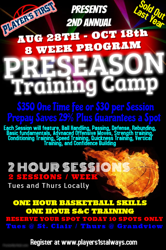 Click Here to Register for Full Camp or Half Camp