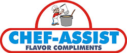CHEF-ASSIST® Flavor Compliments is a unique line of oil-souble, dried and water-soluble flavors designed with the research chef and food technologist in mind. It can be used to save time in product preparation, enhance and bolster flavor profiles and recapture tastes lost during harsh cooking and freezing process.