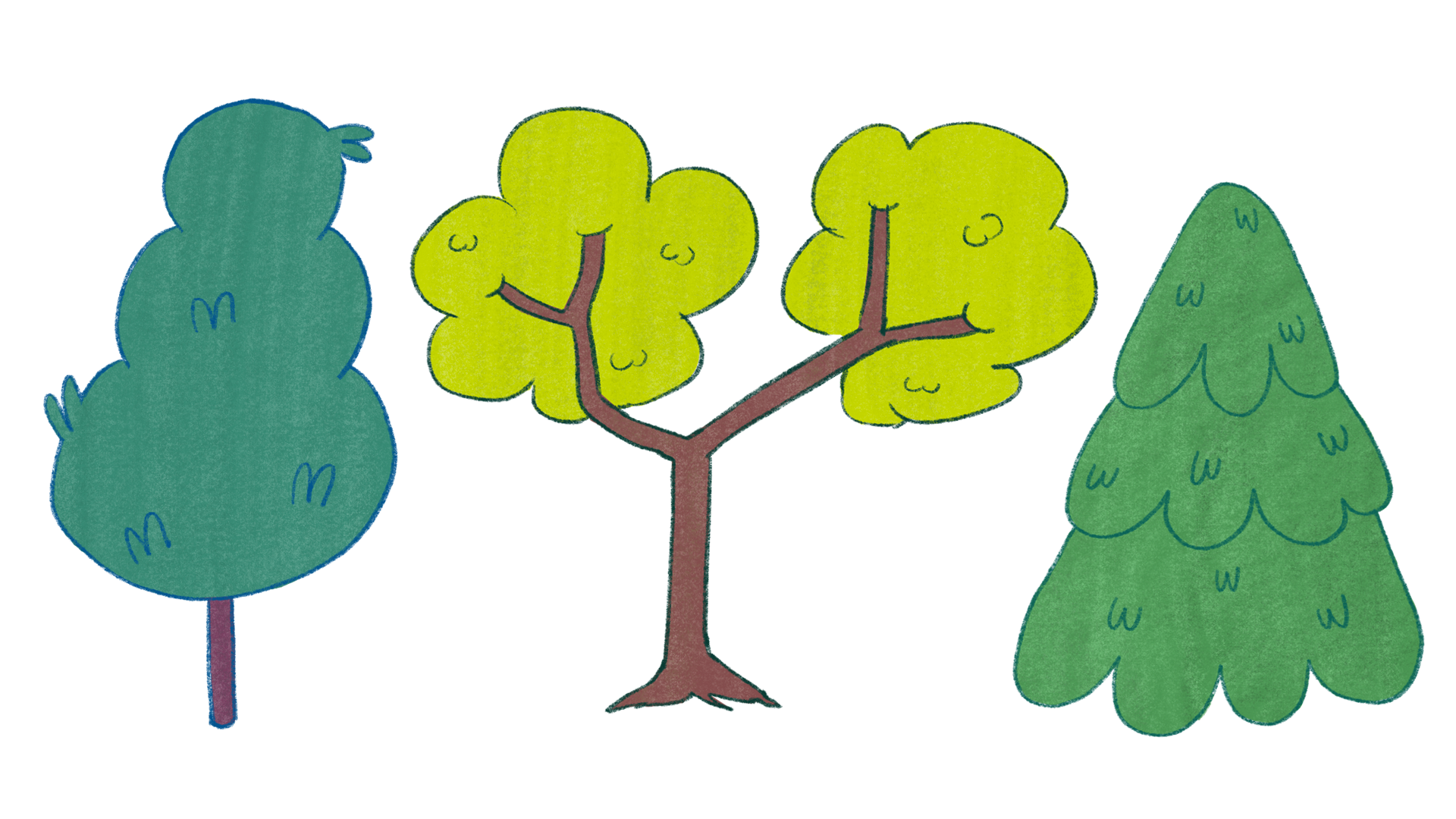 Props - Trees for Thesis backgrounds