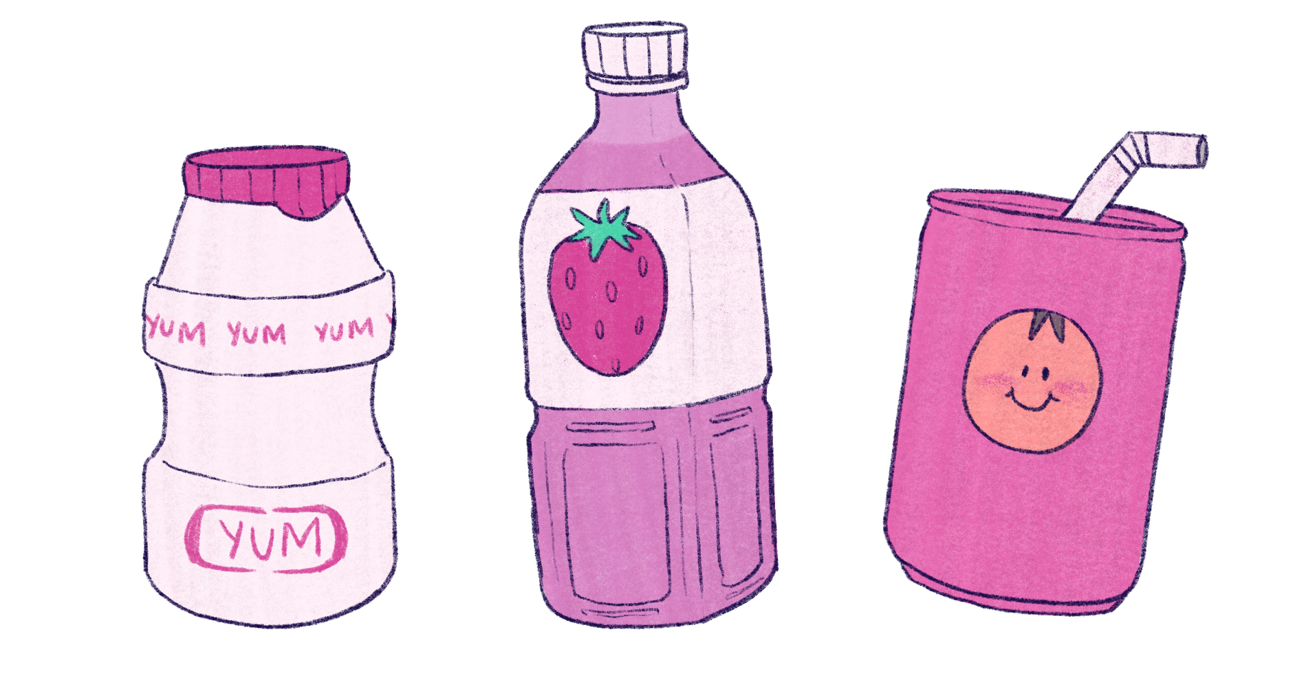 Props - Drinks for Thesis background