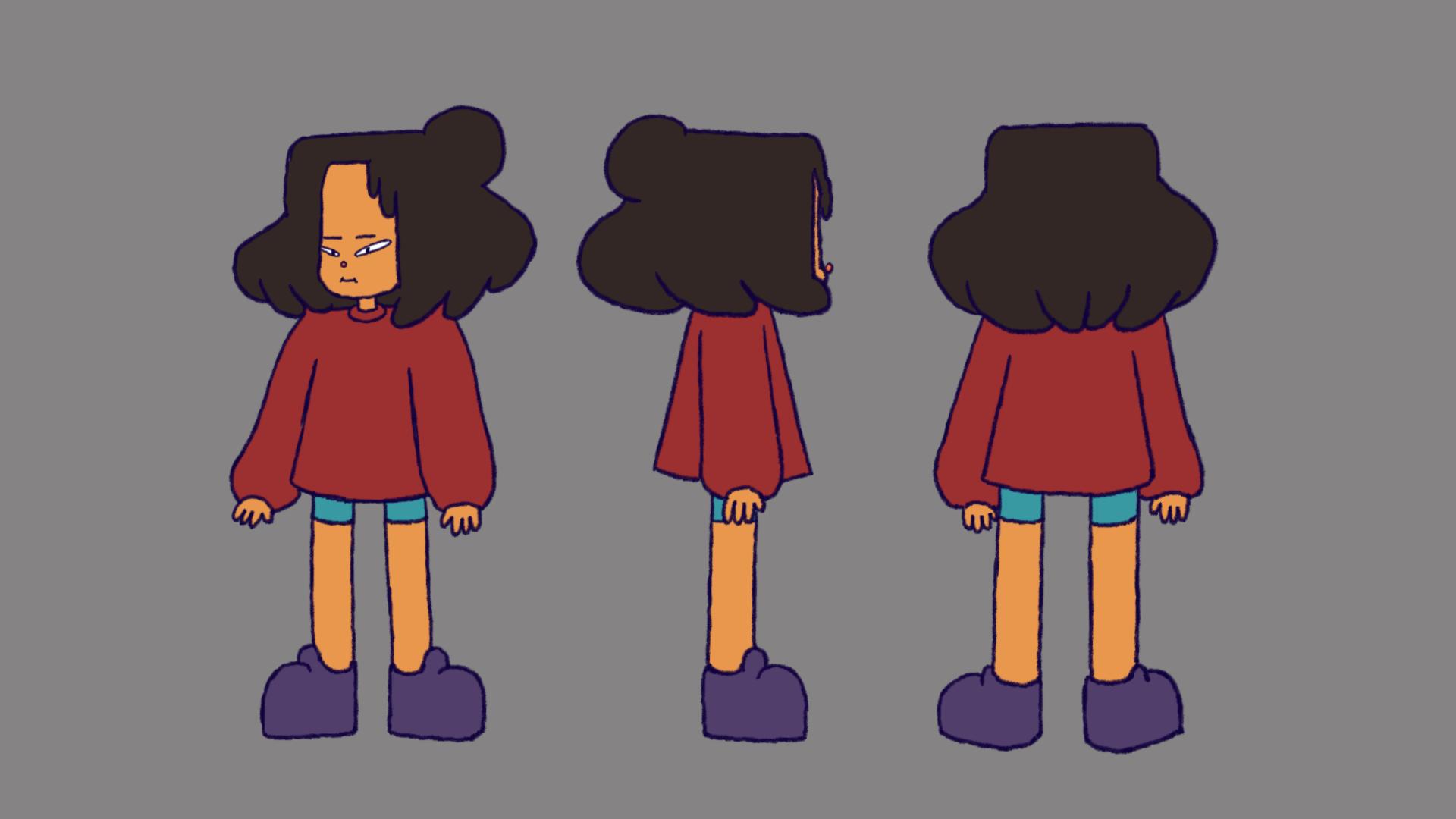 Thesis Character - Girl