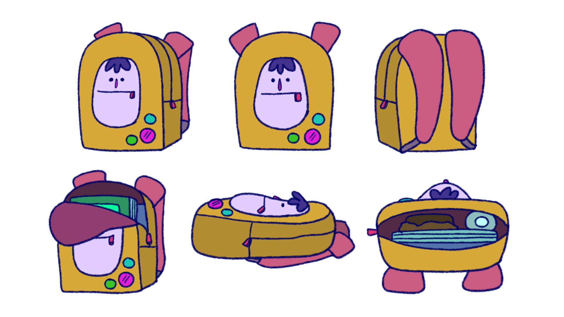 Prop Design - Backpack