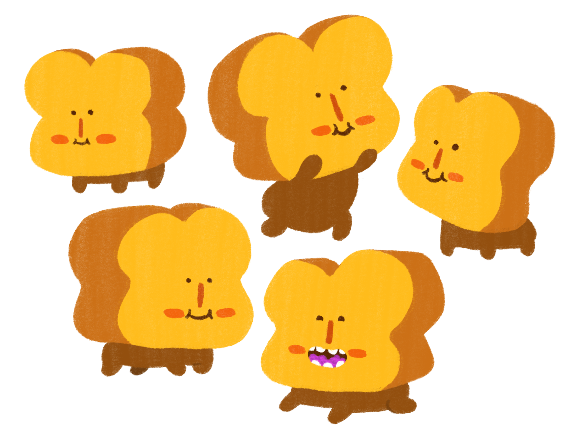 Character Design - Toast Pup