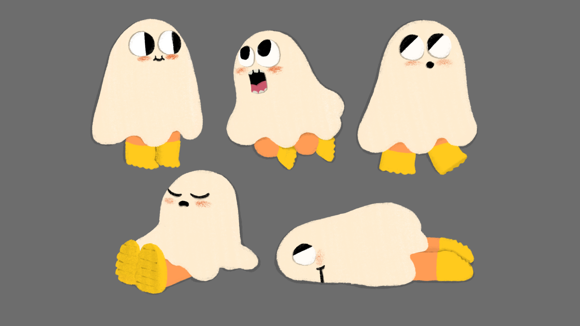 Character Design - Ghost Boy
