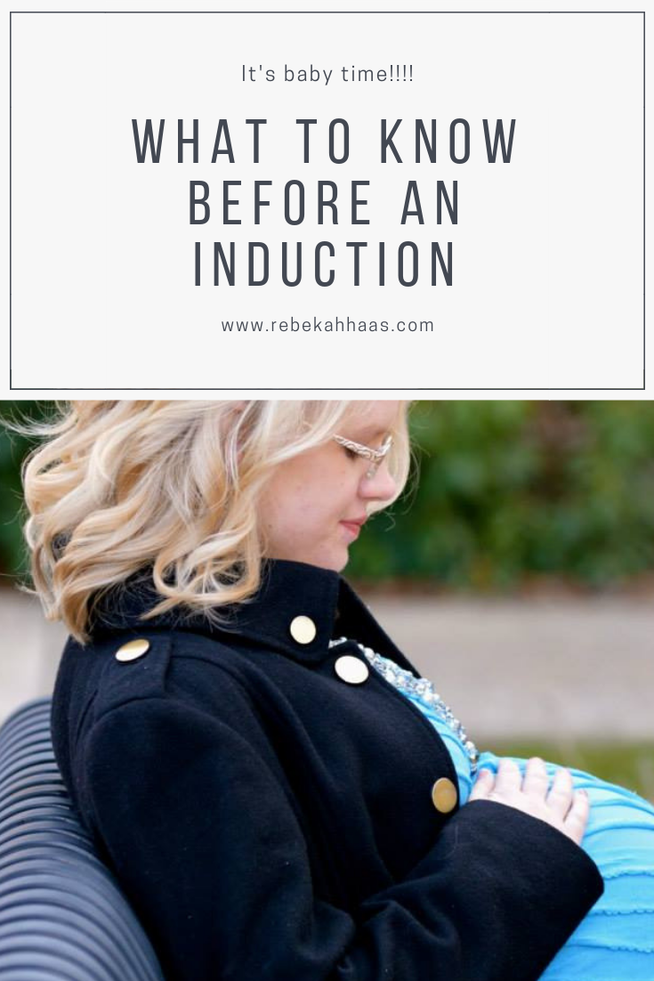 Learn about inductions from a mom who has had three!