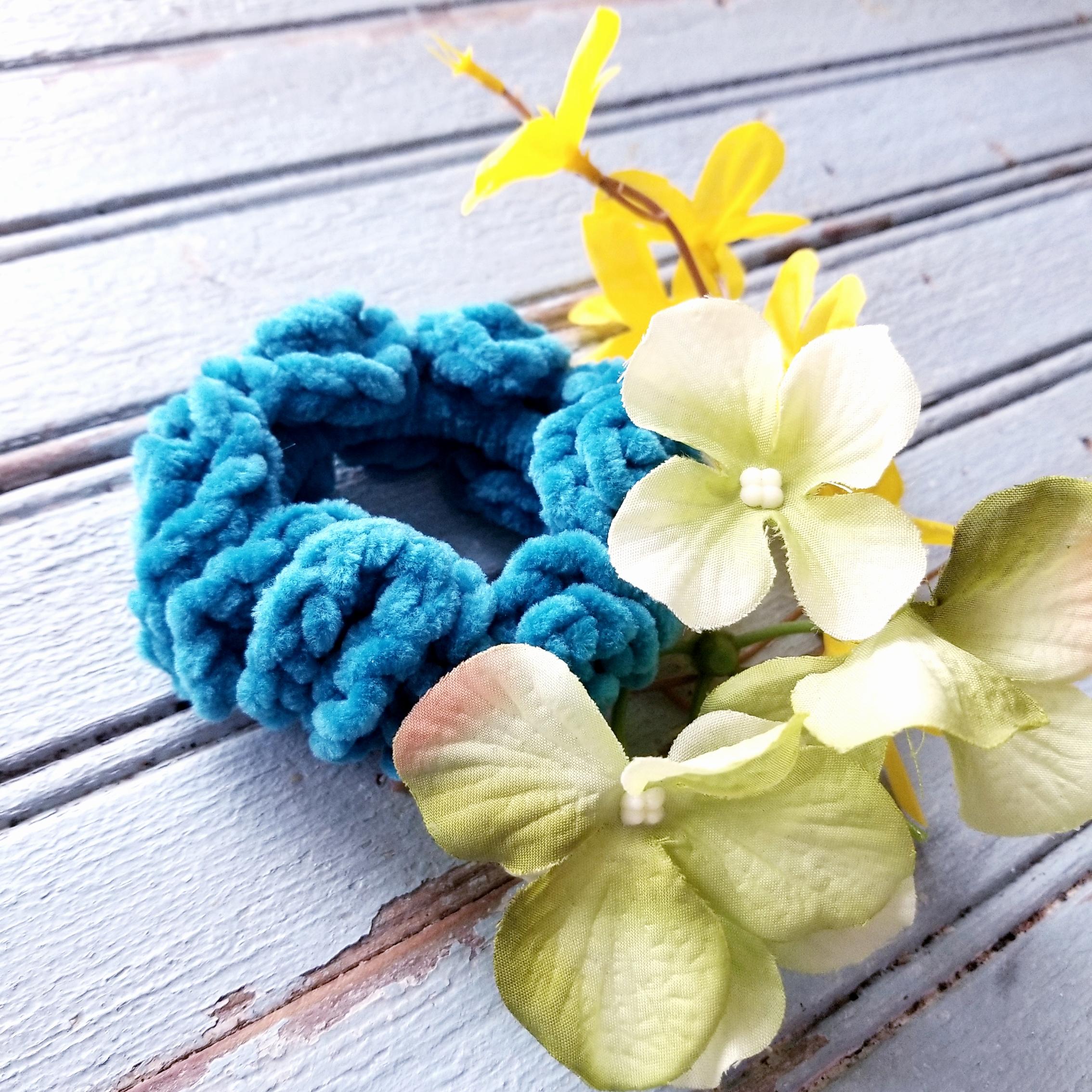 Free Scrunchie Crochet Patterns!