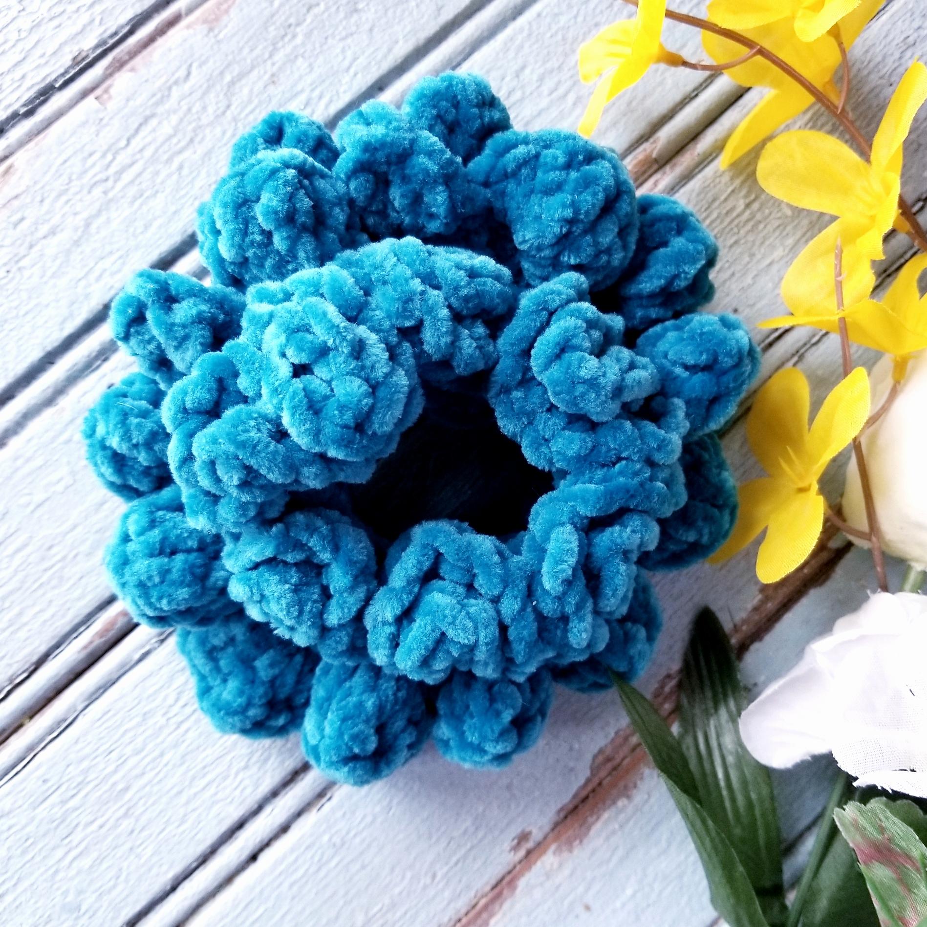 Two Free Crochet Scrunchie Patterns!