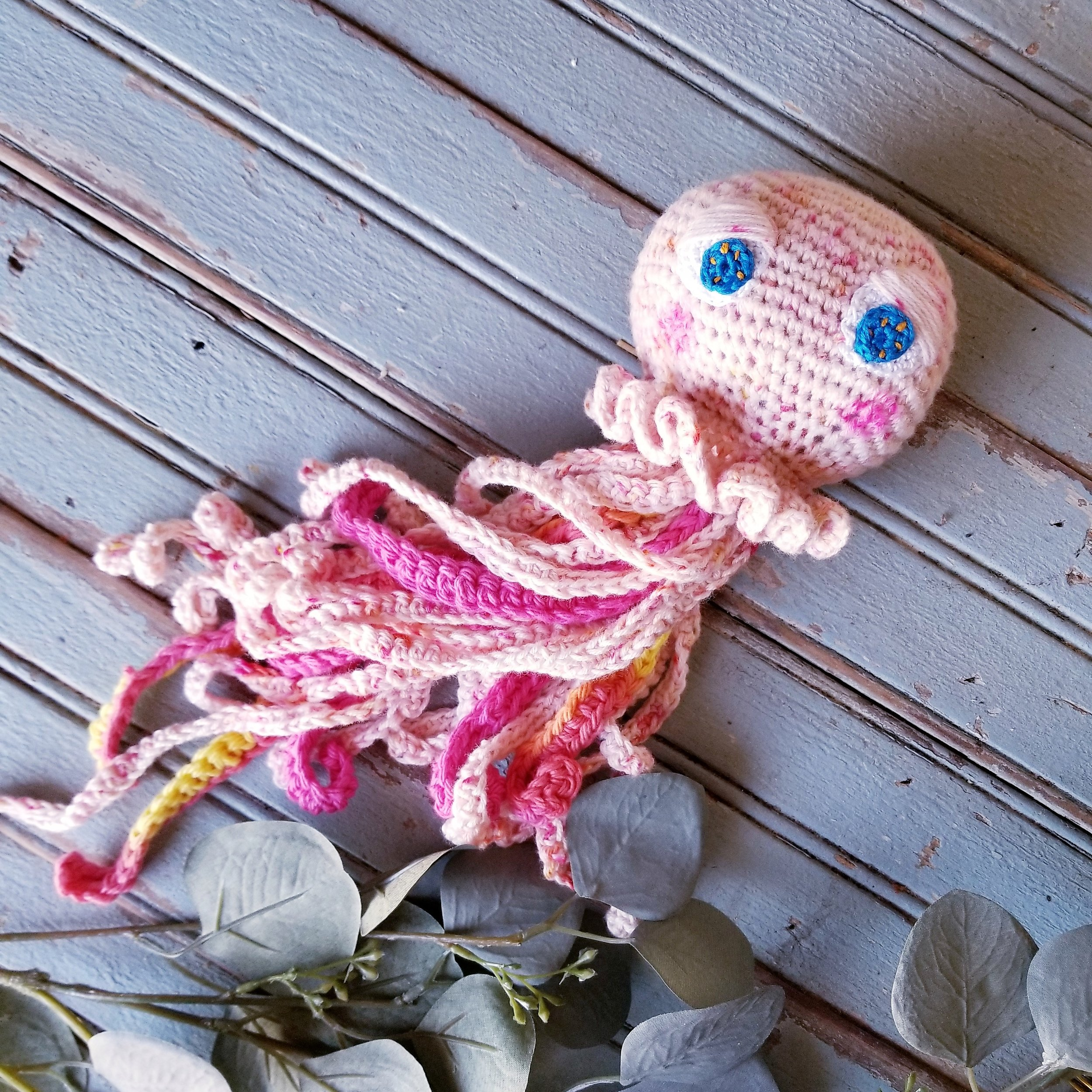 Free Crochet Jellyfish Pattern