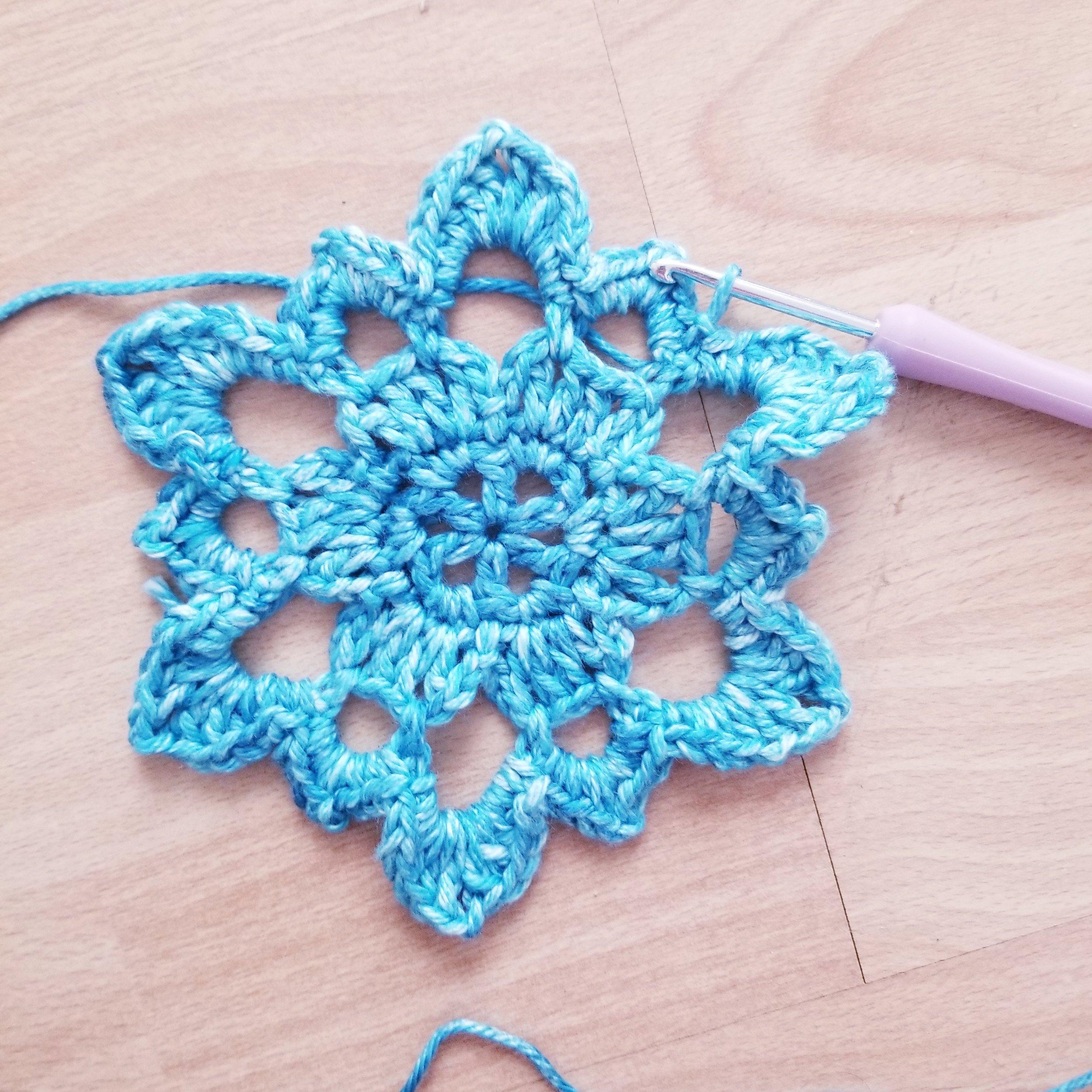Beginner Crochet Mandala Pattern