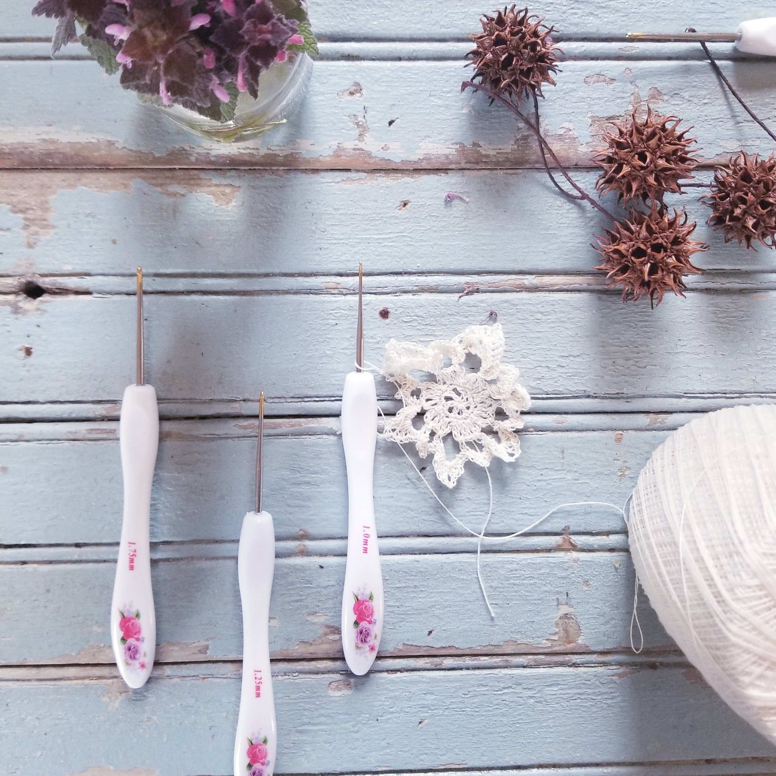 How to Crochet with Thread