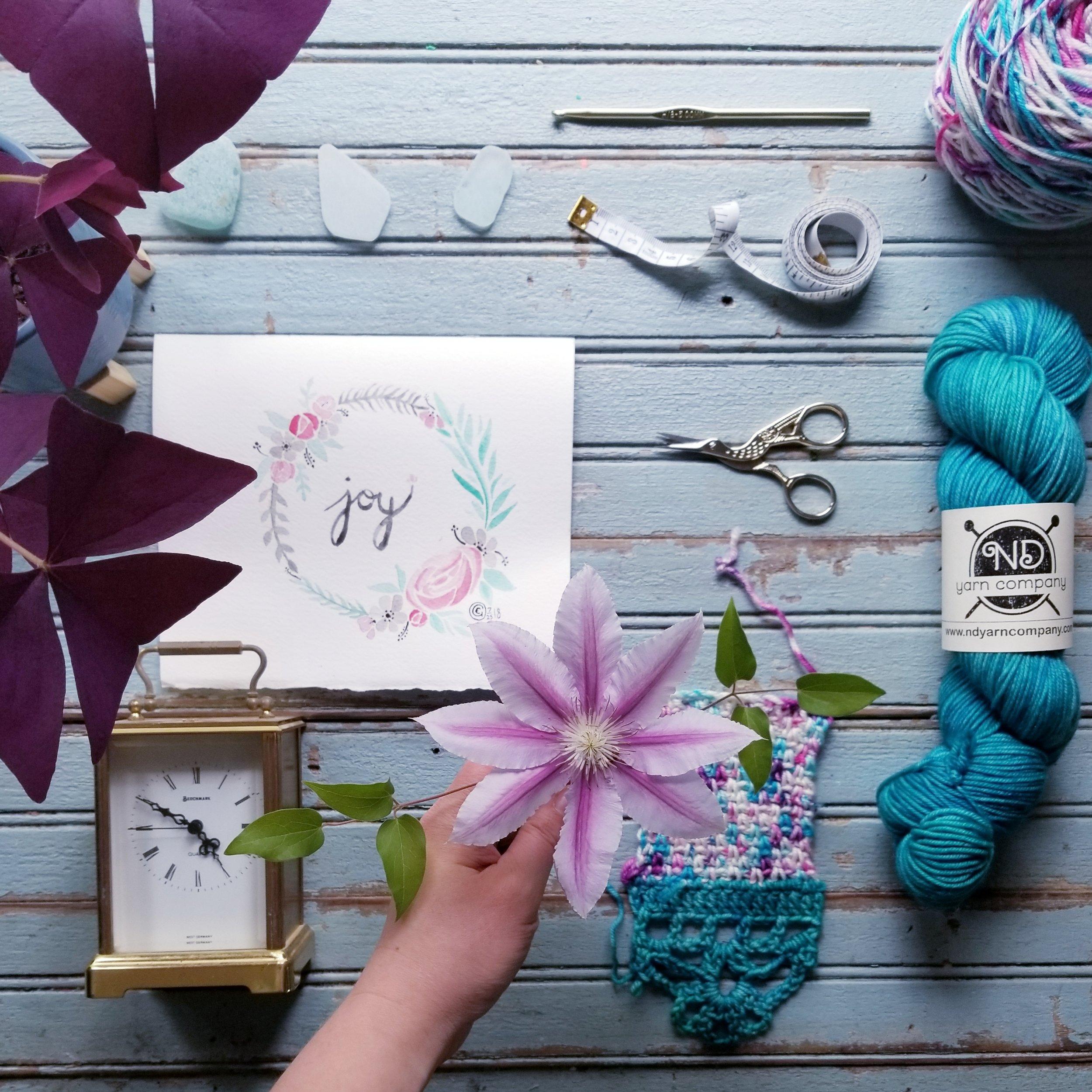 Barcis Kimono Crochet Pattern: Make a gauge swatch!