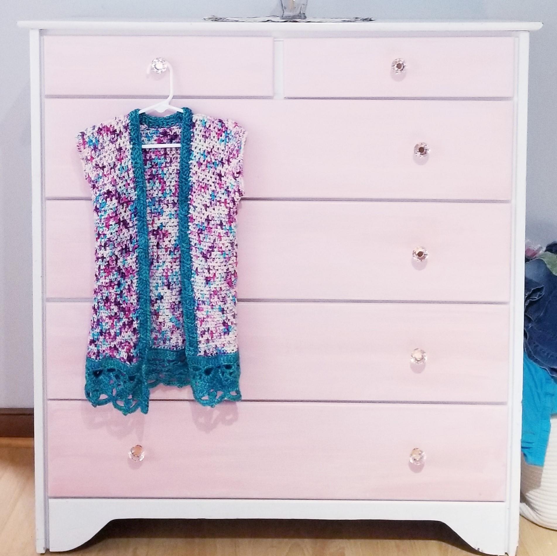 Crochet Kimono kids sizes 2t-14