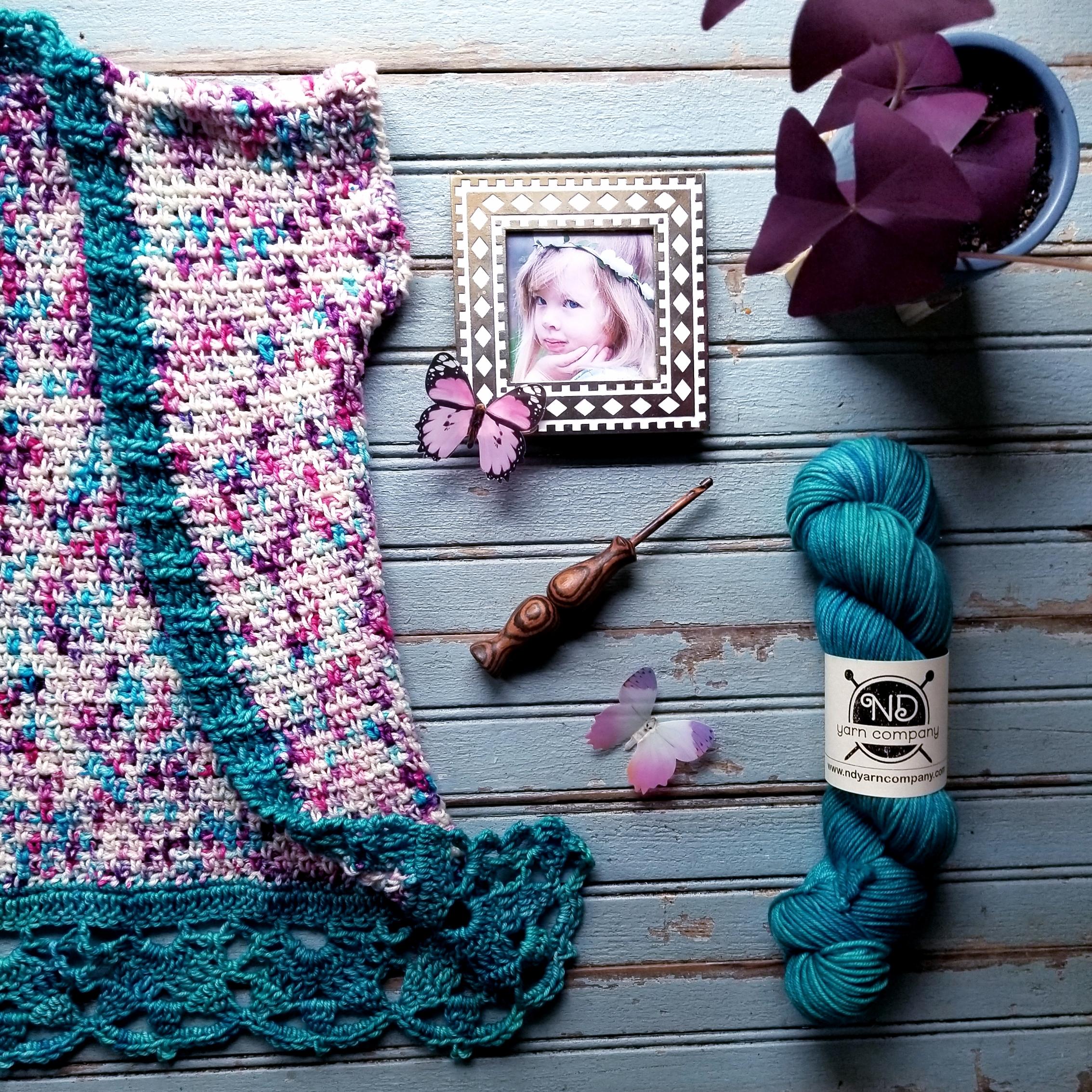 Crochet Kids Kimono sizes 2t-14