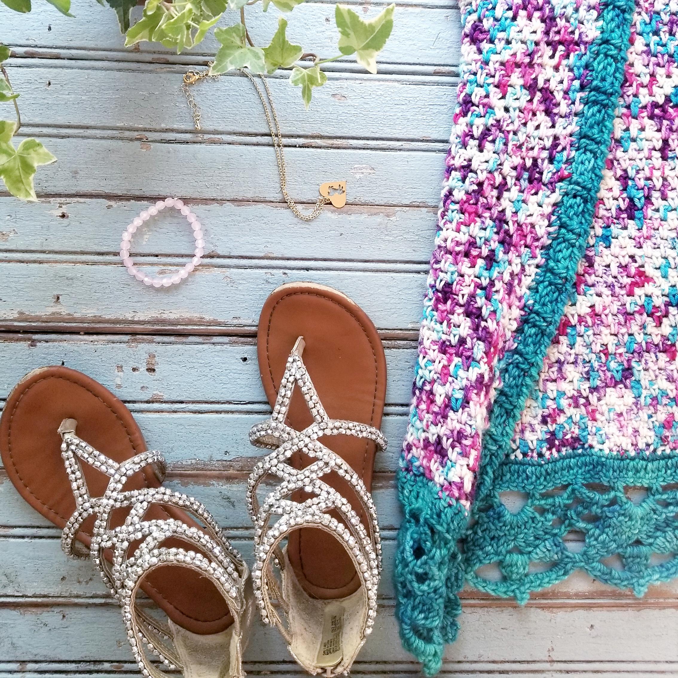 Free Crochet Kimono Pattern for Kids 2t-14