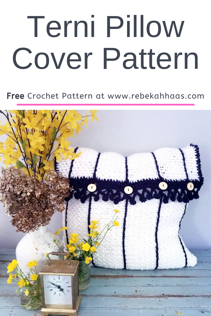 Terni Pillow Cover Crochet Pattern