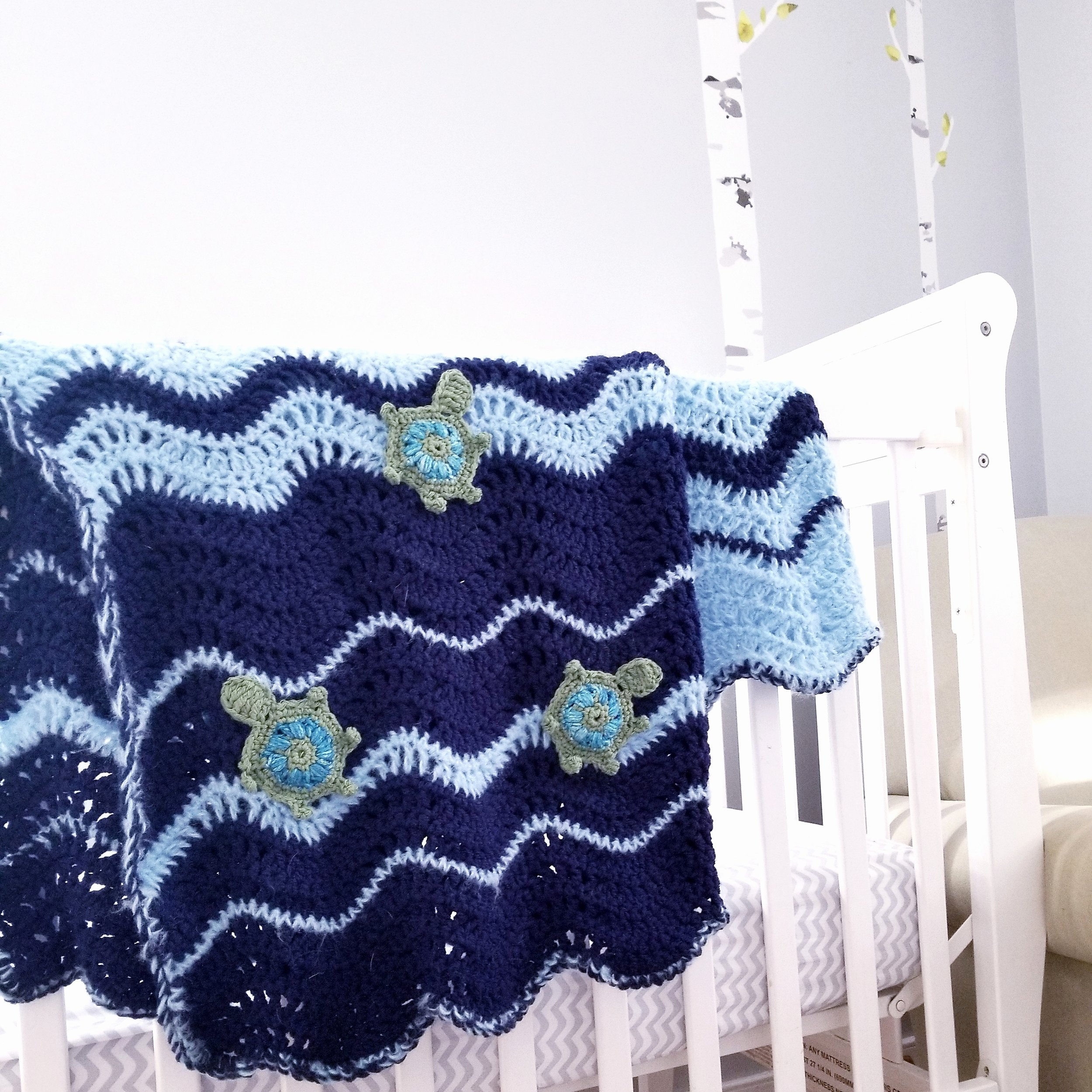 The Destin Blanket add the perfect touch to any nursery!