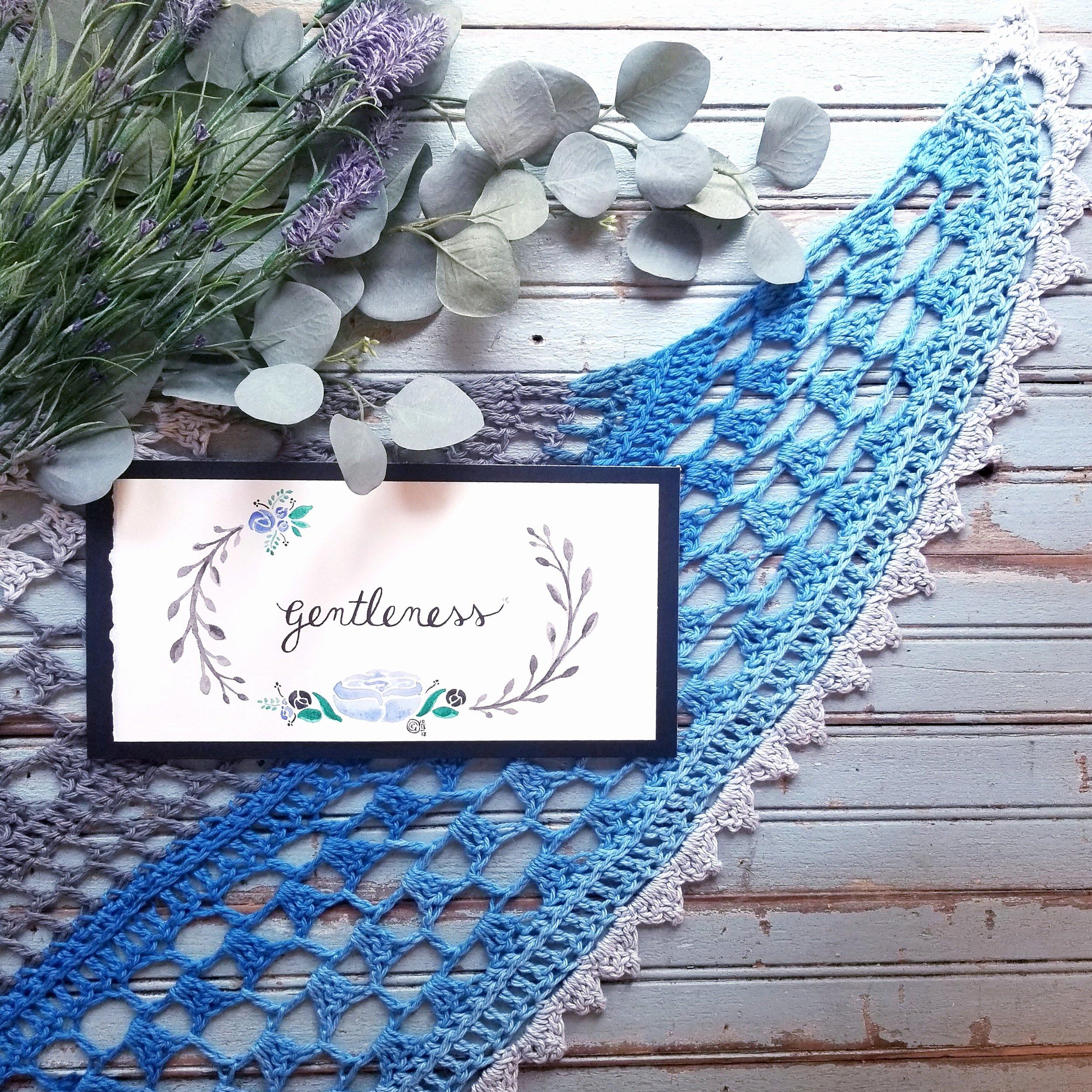 Free crochet lace wrap pattern