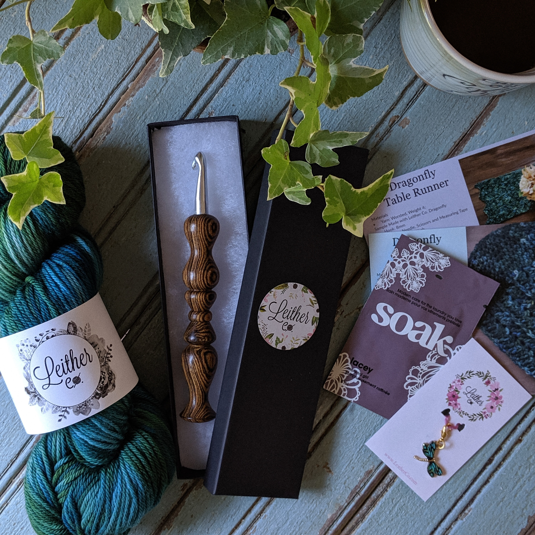 Leither Co. Subscription Box Review: #crochet #crochetbox #crochetsubscription