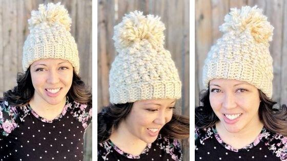 Heather Beanie: Free Crochet Pattern