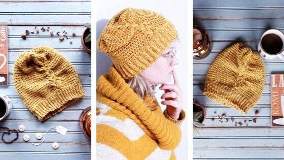 Roma Beanie: Lightweight free crochet hat pattern