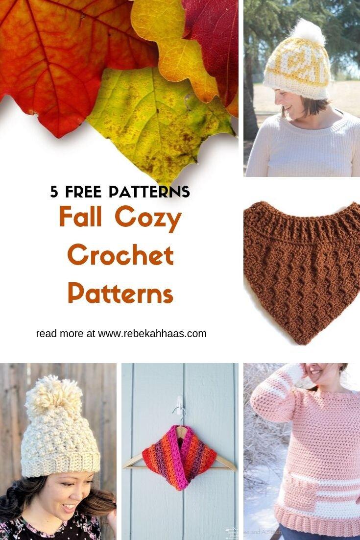 Five Free Cozy Fall Crochet Patterns