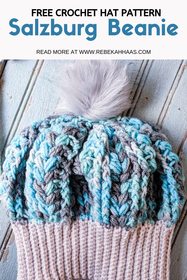 Salzburg Beanie: Free Crochet Pattern