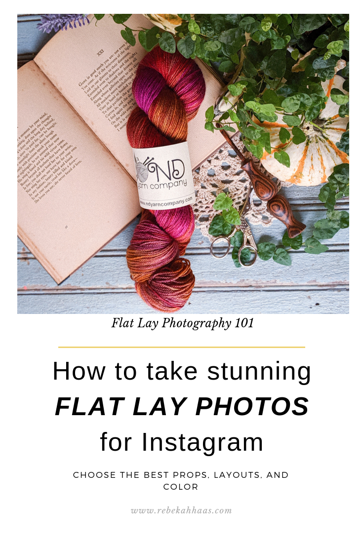 How to take STUNNING Flat Lay Photos for Instagram