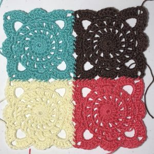 The Stoney River Square - Click for free pattern!