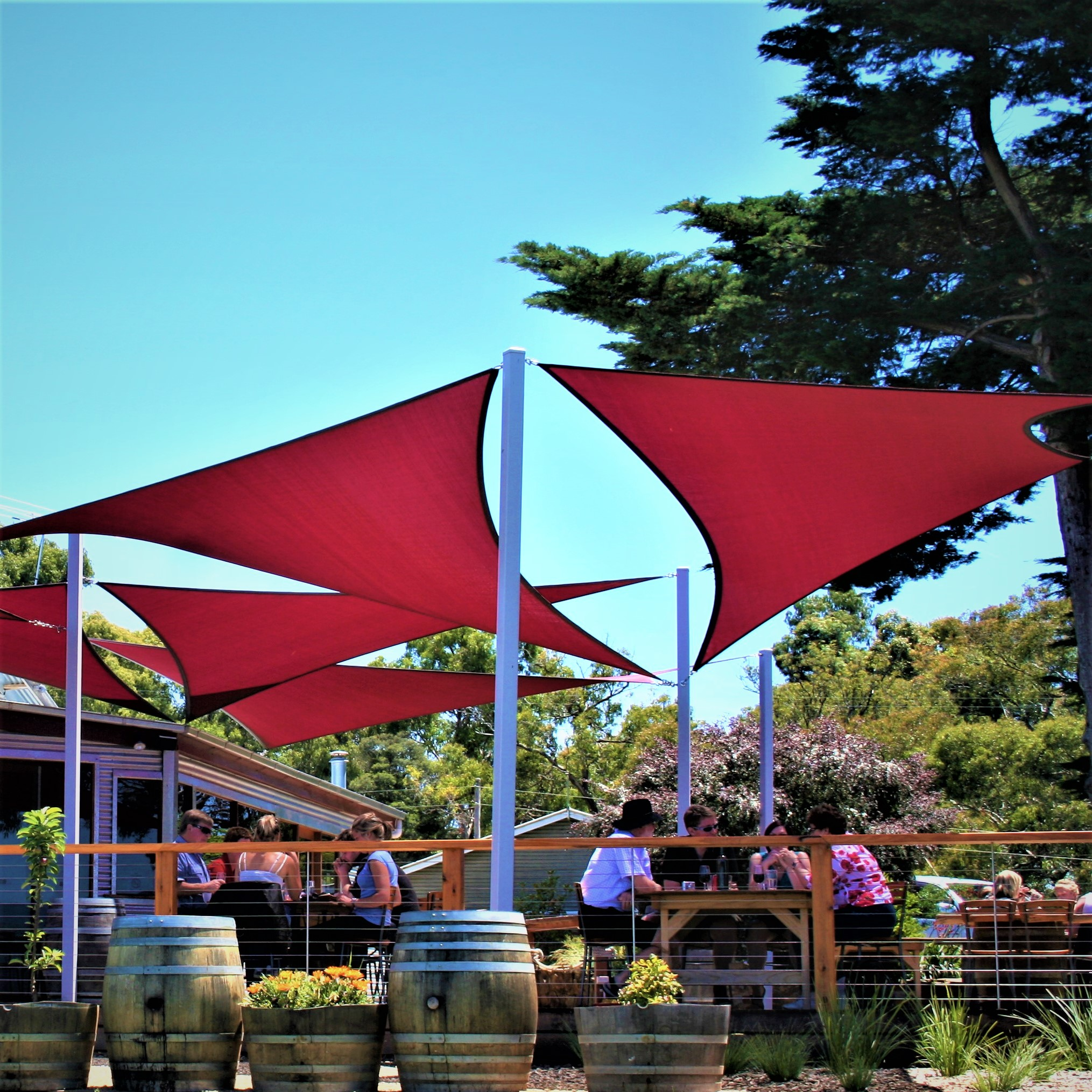 Featured Product - Shade sails and structures custom made. Designed and installed for commercial, government and residential developments.✔ $20 Million Public & Product Liability Insurance ✔ 5 Year Structural Warranty✔ 10 Year Shade Cloth WarrantyLearn More