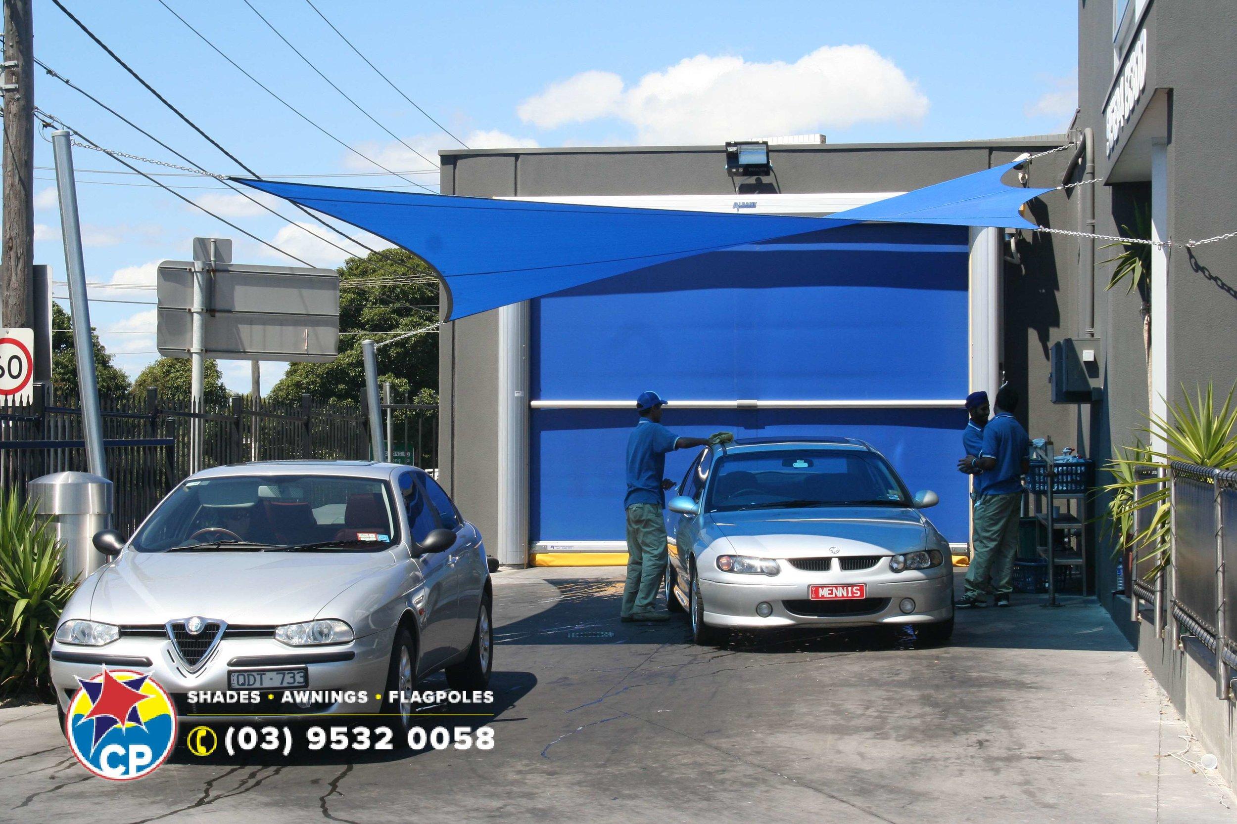 CP Car Wash Blue Shade Sails 2 2006.jpg