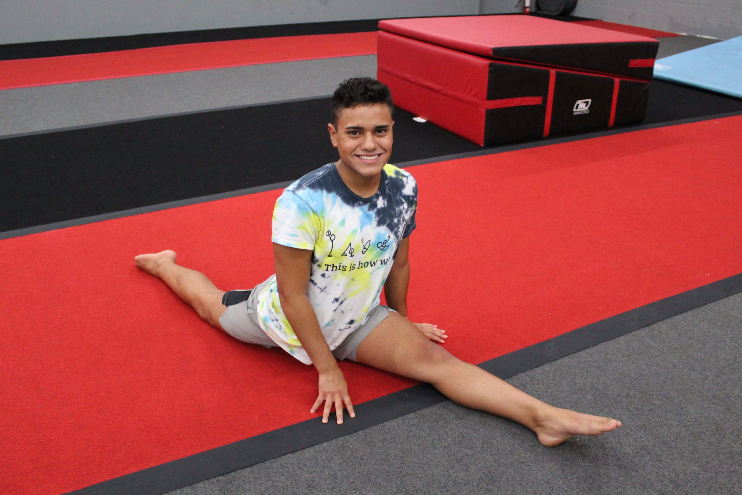 Axel Rios, Stunting and Tumbling