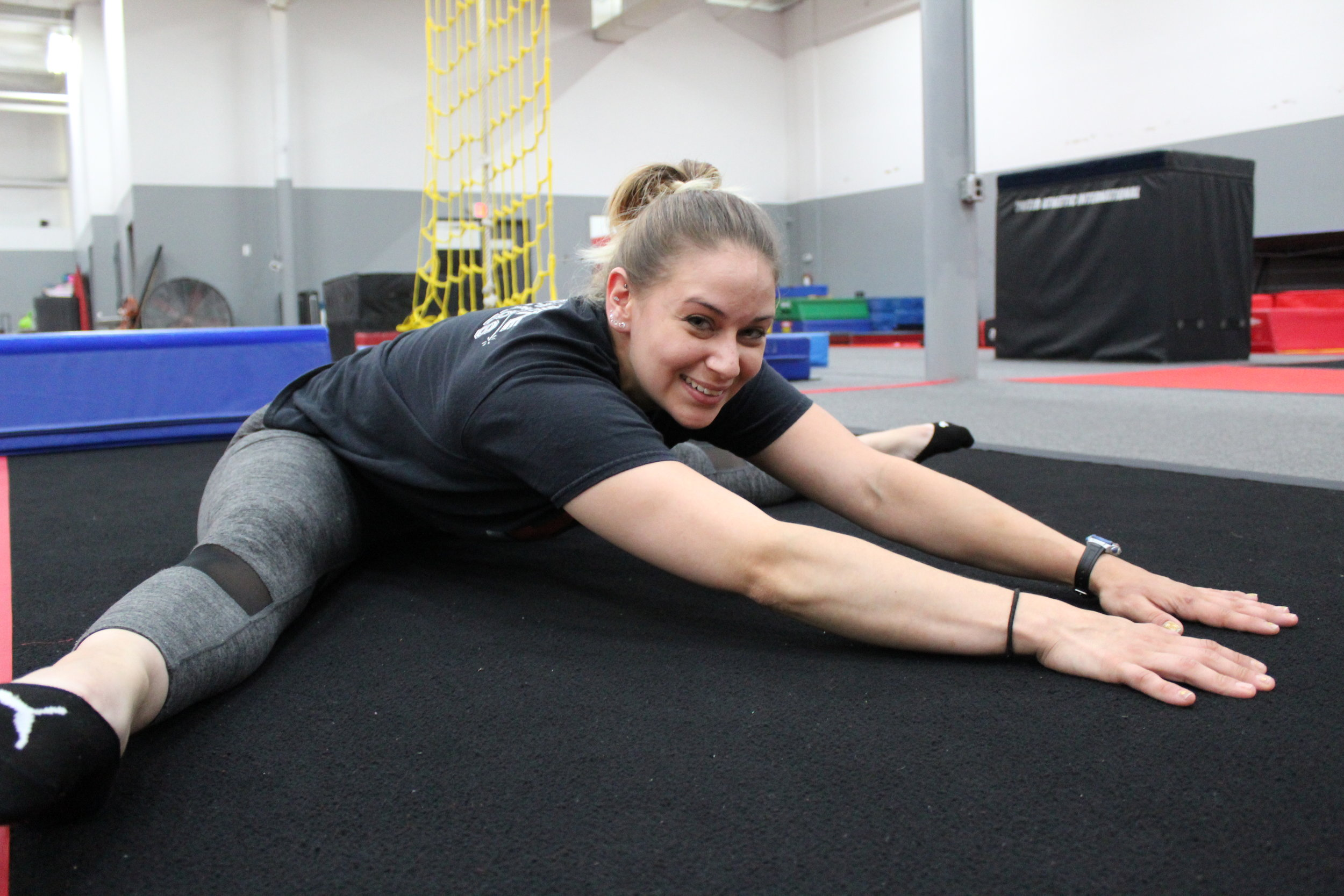 Liz Bofill, Artistic Gymnastics and Power Tumbling