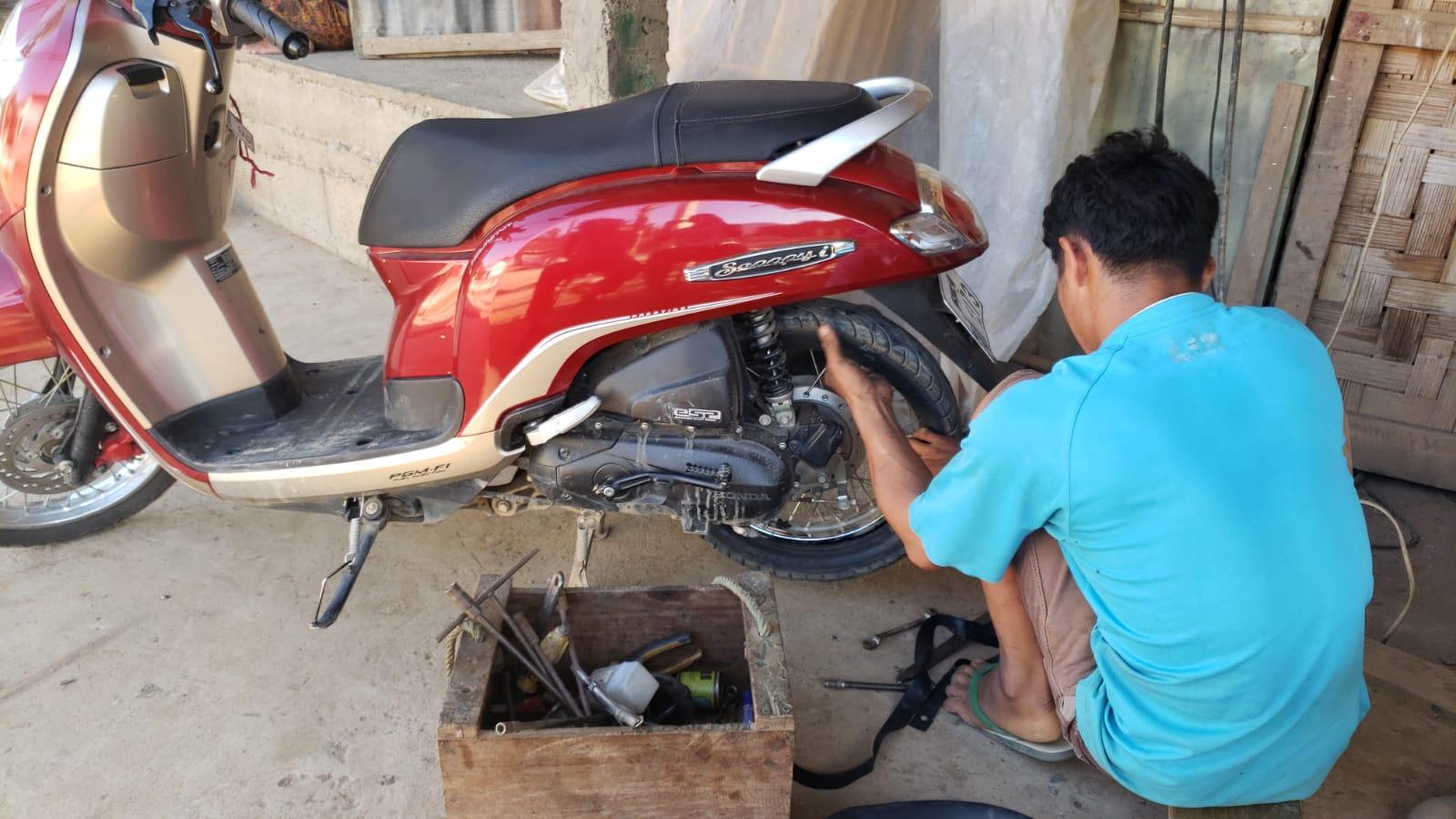 The village mechanic.