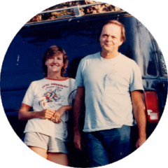 William Preston and Marianne Hornbuckle, circa early 80s.