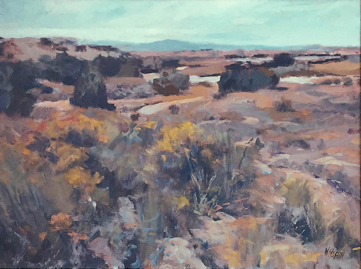 Autumn Arroyo - 30x40 - 6000 fr.
