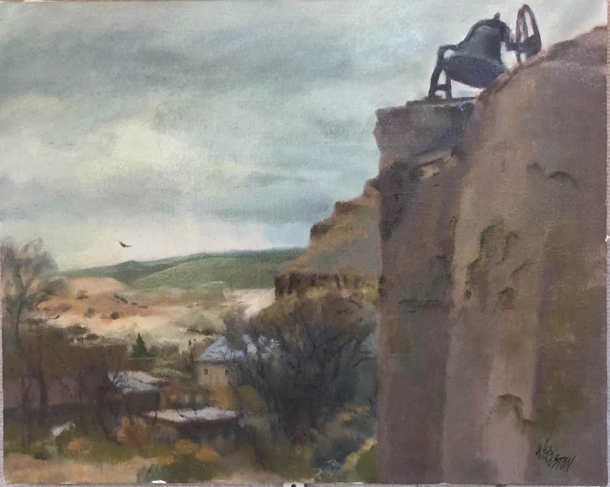 The Morada at Abiquiu- 16x20- 1500
