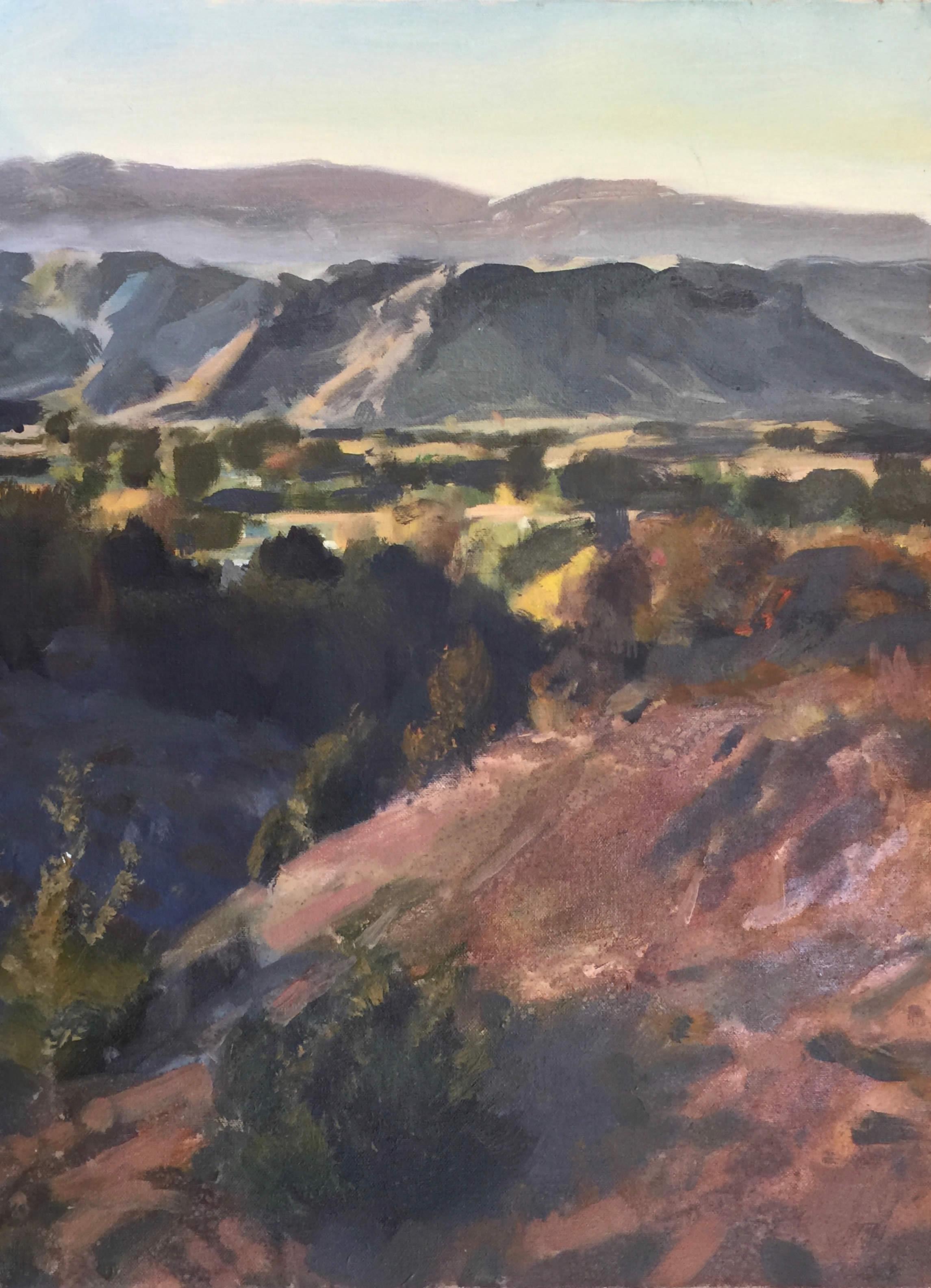 Autumn - Black Mesa - 24x18 -1700