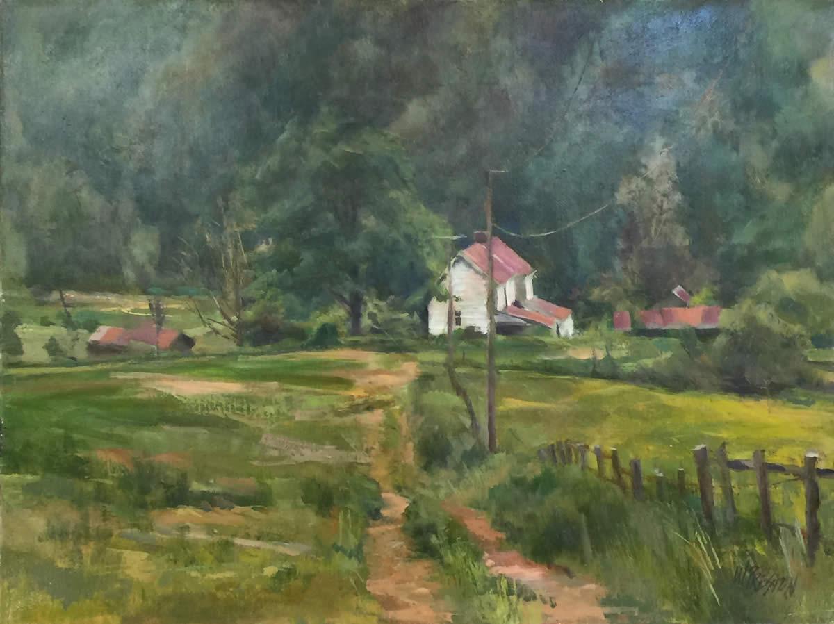 Farmhouse, Shenandoah - 24x30 -