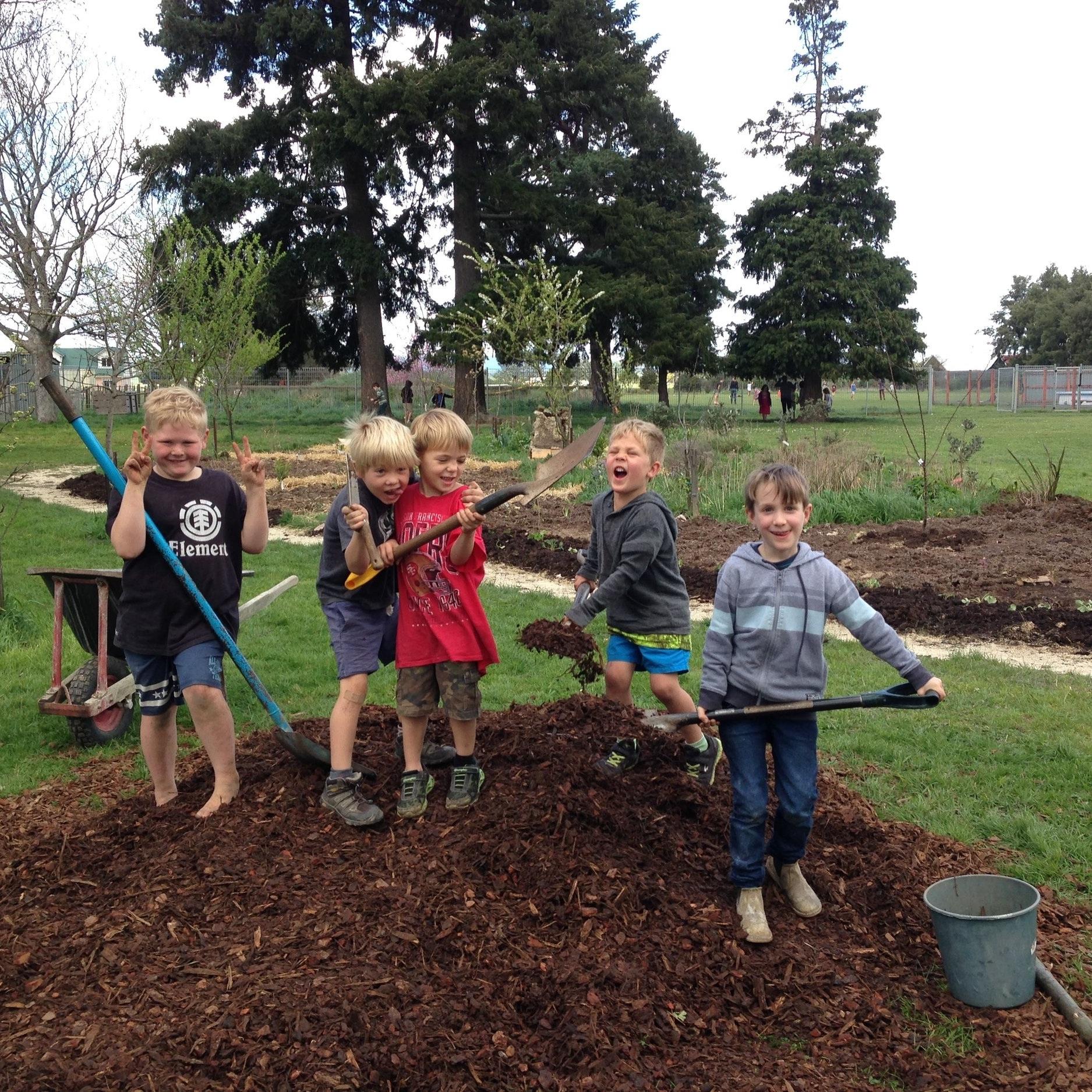 Food Forest Teaching Garden