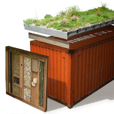 Off grid Shipping Container Science Lab
